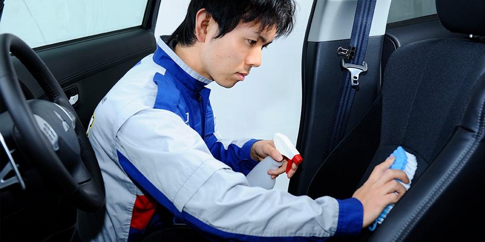 車内清掃・除菌・抗菌